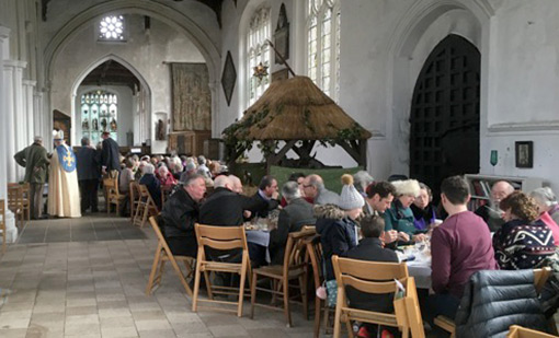 Plough Sunday at Thaxted Church